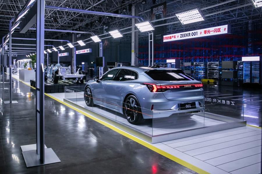 Zeekr 001, une nouvelle voiture électrique offrant jusqu'à 360 kW de puissance